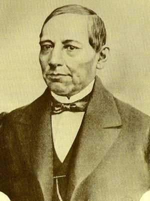 Second Federal Republic of Mexico - Image: Benito Juarez