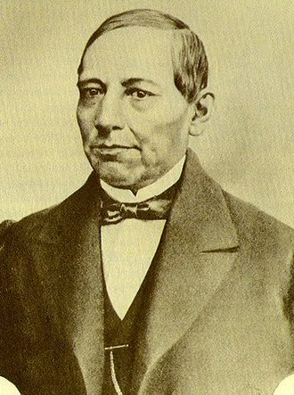 Second Federal Republic of Mexico - Benito Juárez, constitutional leader and president
