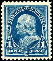 Benjamin Franklin2 1895 Issue-1c.jpg