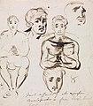 Benjamin Robert Haydon - Study of Facial Expressions - B1977.14.2647 - Yale Center for British Art.jpg