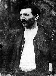 Portrait of French anarcho-syndicalist and free lover Benoit Broutchoux