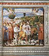 Benozzo Gozzoli - St Augustine Departing for Milan (scene 7, south wall) - WGA10292.jpg