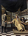 Berckheyde, Jan - A Notary in His Office - 1672.jpg