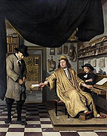 Berckheyde, Jan - A Notary in His Office - 1672.jpg
