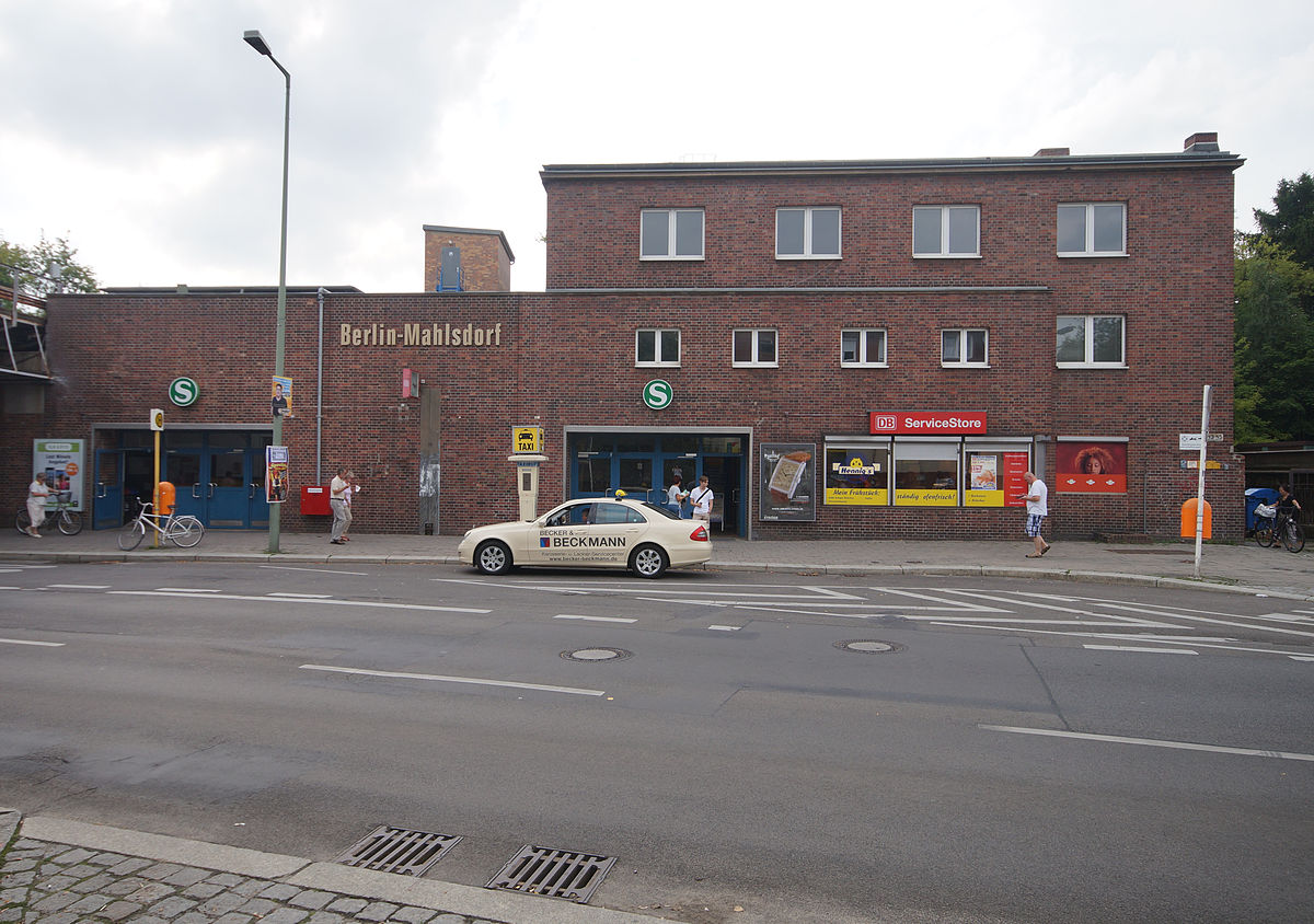 mahlsdorf railway station wikipedia. Black Bedroom Furniture Sets. Home Design Ideas