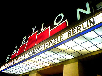 Kino Babylon - Entrance during the Berlinale