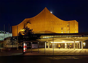 Berliner Philharmonie - Entrance to the concert hall