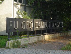 Lankwitz - Image: Berlin FU GEO CAMPUS