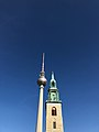 Berlin tower and the older neighbour.jpg