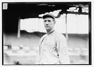 Bert Humphries - Image: Bert Humphries, Chicago Cubs (1914)