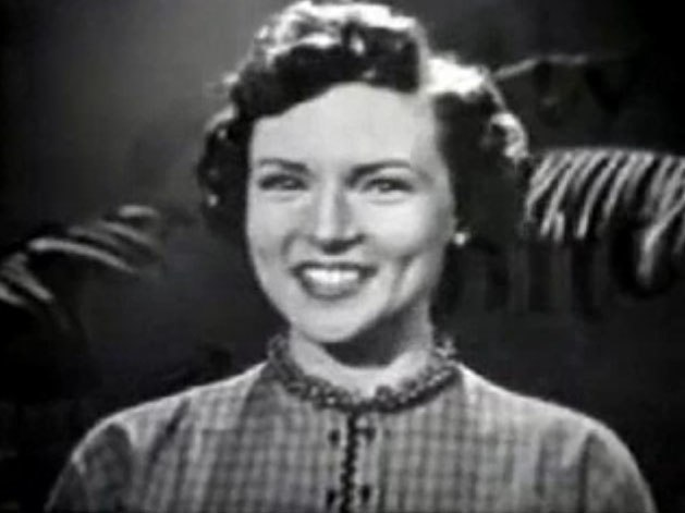 Betty White in The Betty White Show 1954 (2)