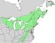 Betula alleghaniensis range map 2.png