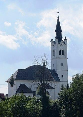 Bevke - Holy Cross Church