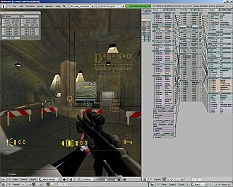 Blender Game Engine - Image: Bge Fps Shooter