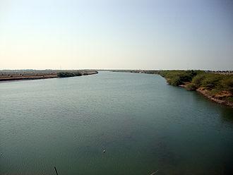 Bhadar River - Bhadar River (Near navi bandar, Porbandar)