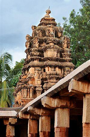 Nandi Hills, India - Bhoga Nandeeshwara Temple in Nandi Village