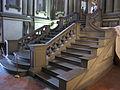 Biblioteca laurenziana, vestibolo, scalinata 02.JPG