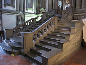 Laurentian Library - Staircase