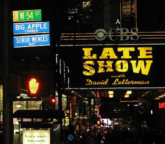 "Big Apple - ""Big Apple Corner"" at 54th Street and Broadway, in Manhattan's Theater District"