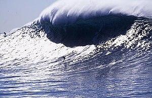 Big wave surfing - Image: Bigwavesurf