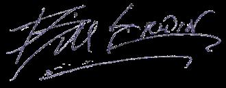 Bill Erwin - Image: Bill Erwin (signature)