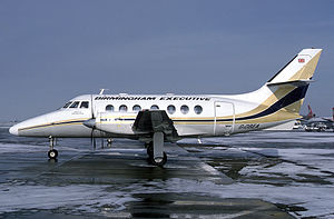 Birmingham European Airways - British Aerospace Jetstream 31
