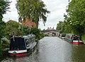 Birmingham and Fazeley Canal at Fazeley, Staffordshire - geograph.org.uk - 1749124.jpg