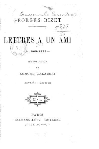 File:Bizet - Lettres à un ami, 1909.djvu
