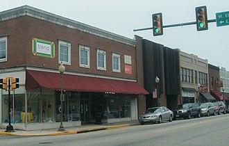 Blackstone, Virginia - Downtown Blackstone, April, 2015