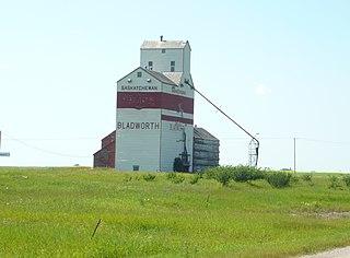 Bladworth Village in Saskatchewan, Canada