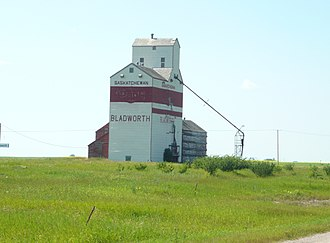 Bladworth - Grain elevator in Bladworth