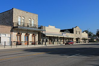 National Register of Historic Places listings in Blanco County, Texas - Image: Blancotx 2