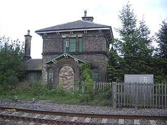 Bleasby railway station - Image: Bleasby Railway Station (1)