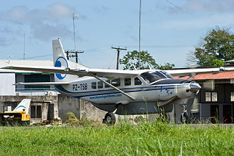 Blue Wing Airlines - Blue Wing Airlines Cessna 208 Caravan PZ-TSB at SMZO