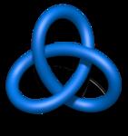 Blue Trefoil Knot.png