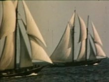 File:Bluenose vs. Gertrude L. Thebaud, Wallace R. MacAskill, 26 October, 1938.webm