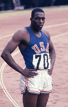 Bob Hayes in 1964.