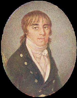 Manuel Maria Barbosa du Bocage - Bocage at around 20 years old