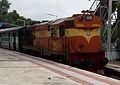 Bodhan-MBNR Passenger with WDM3A loco at Safilguda.jpg