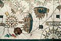 Bodleian Libraries, Closeup of Venice and Genoa in portolan chart of the central and western Mediterranean and part of the Atlantic.jpg