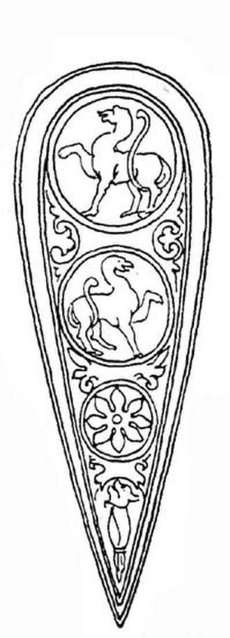 Kite shield - Norman style kite shield.
