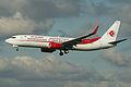 Boeing 737-8D6w 7T-VKC Air Algerie (7132619577).jpg