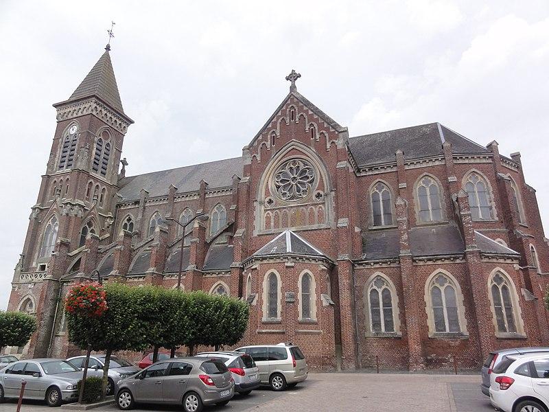 Bohain-en-Vermandois (Aisne) église
