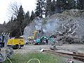 Bohrungen mit 'Menzi Muck A81' am Badfelsen 05.JPG