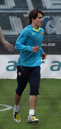 El jugador de futbol Bojan Krkic
