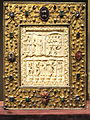 Book-Shaped Reliquary, ivory Ottonian, Lorraine, about 1000 AD, frame German, Lower Saxony, about 1340 AD - Cleveland Museum of Art - DSC08515.JPG