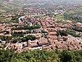 Borgo Maggiore seen from San Marino - June 2016.jpg