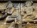 Borobudur - Lalitavistara - 014 E, The Bodhisattva inside Queen Maya's Womb (detail 4) (11247794754).jpg