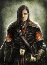 Ilustração e representação de Boromir