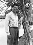 Boston Red Sox legend Ted Williams standing Sarasota, Florida.jpg